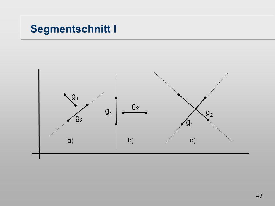 49 Segmentschnitt I g1g1 g2g2 c) g2g2 g1g1 b) g1g1 g2g2 a)