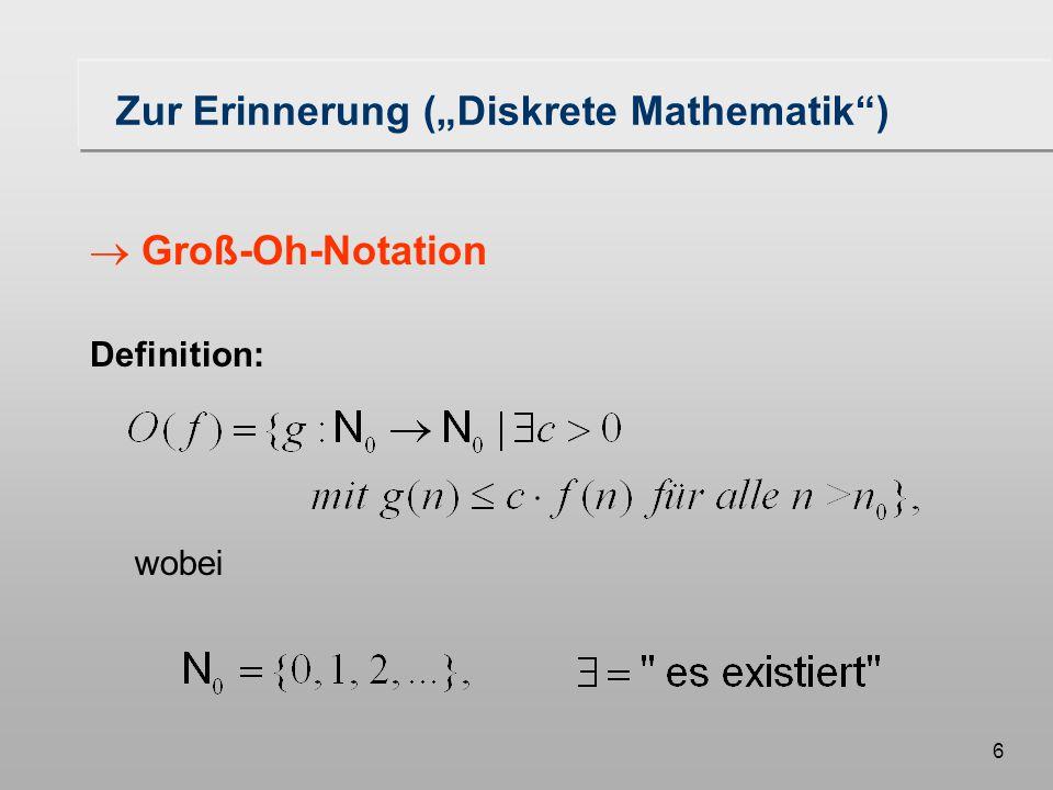 47 Algorithmus (II) fuege_ein(s,x,L): fügt das Segment s in die Menge L ein entsprechend der Ordnung an der Stelle x entferne(s,x,L): entfernt das Segment s aus die Menge L an der Stelle x nachfolger(s,x,L):liefert den Nachfolger von s in L an der Stelle x, falls vorhanden vorgaenger(s,x,L) liefert den Vorgänger von s in L an der Stelle x, falls vorhanden schnitt(s,t,T)prüft s und t auf Schnitt.