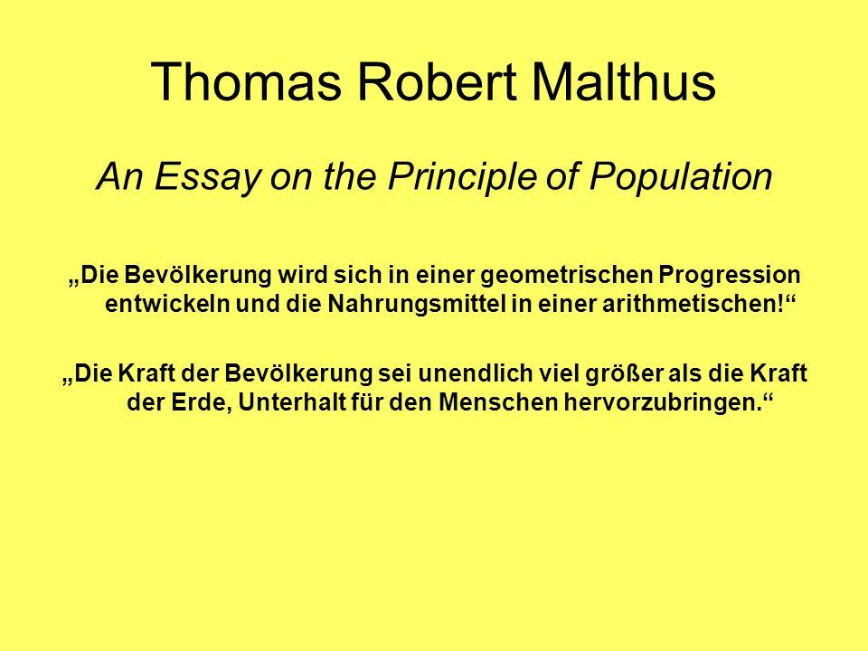 Theorie des demographischen Übergangs von Mackenroth