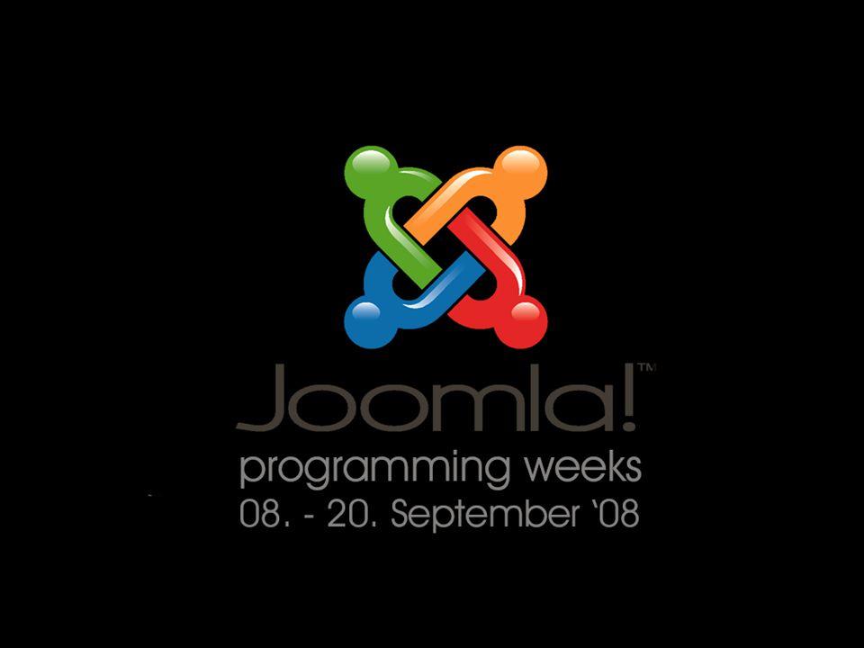 Agenda Überblick über Joomla Einführung Demos Joomla erweitern modules, components, mambots Die Joomla 1.0.x API Entwickeln...