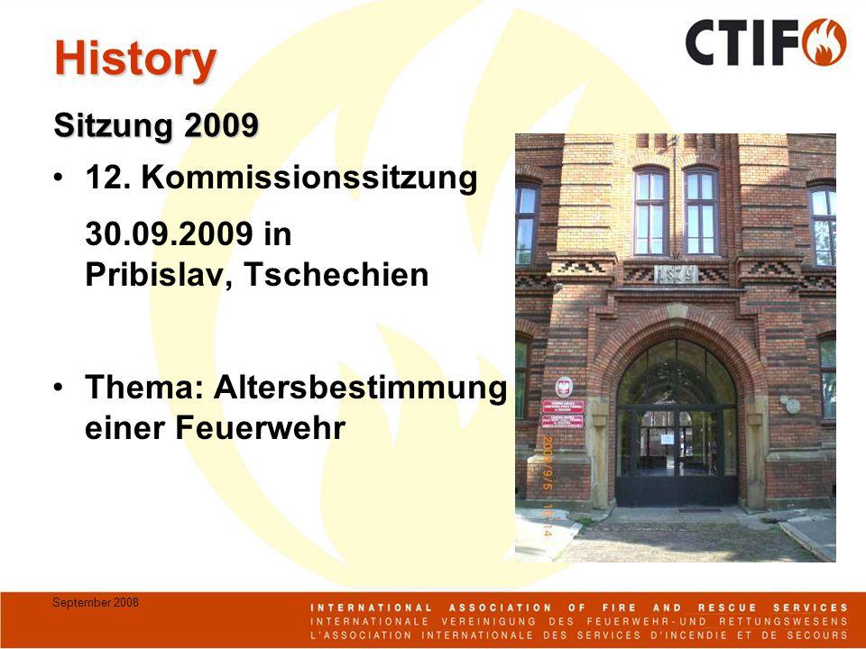 September 2008 History 12.