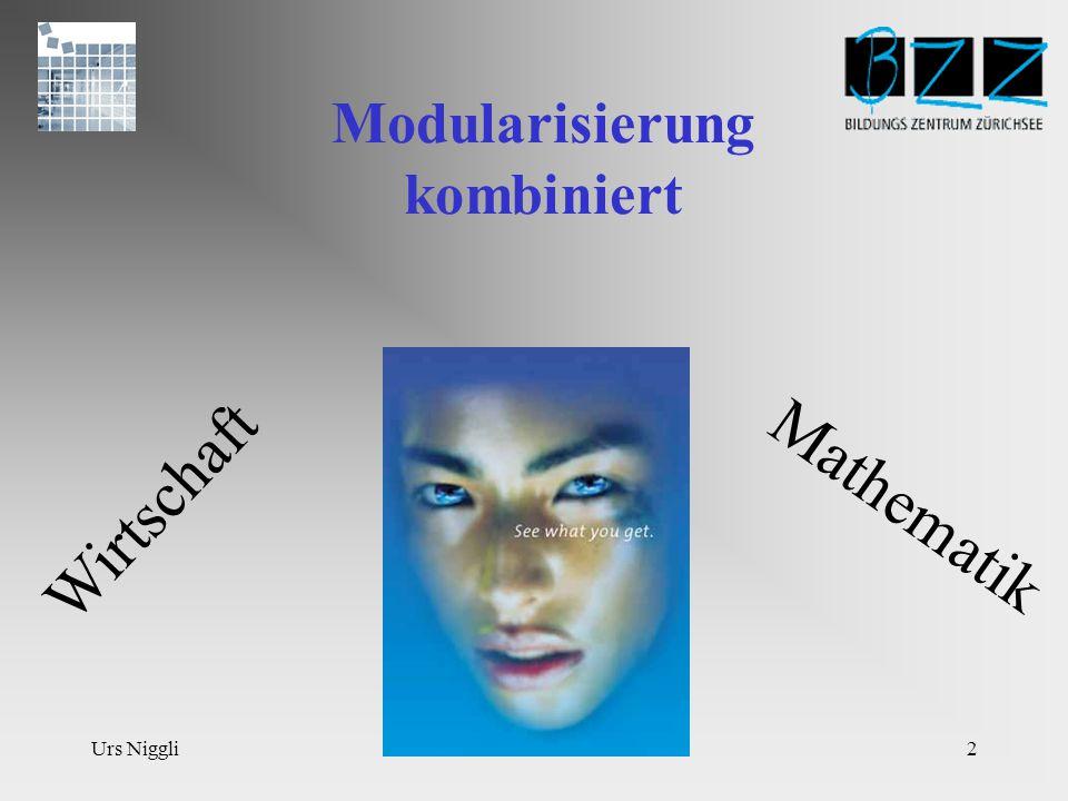 Urs Niggli12 WIRT/MAT4 40L Betriebswirtschaft und Mathematik