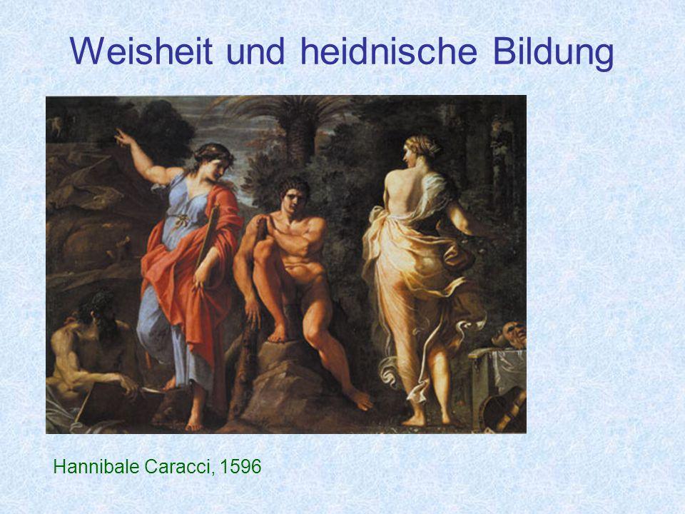 Weisheit und heidnische Bildung Hannibale Caracci, 1596
