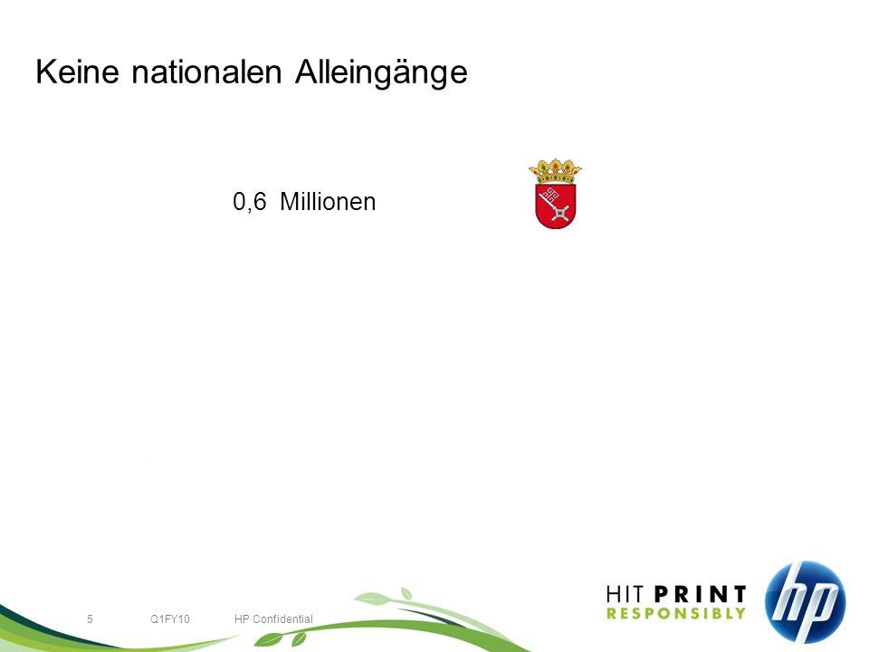 5Q1FY10HP Confidential Keine nationalen Alleingänge 0,6 Millionen 82,4 Millionen 492,8 Millionen 1,500,0 Millionen +