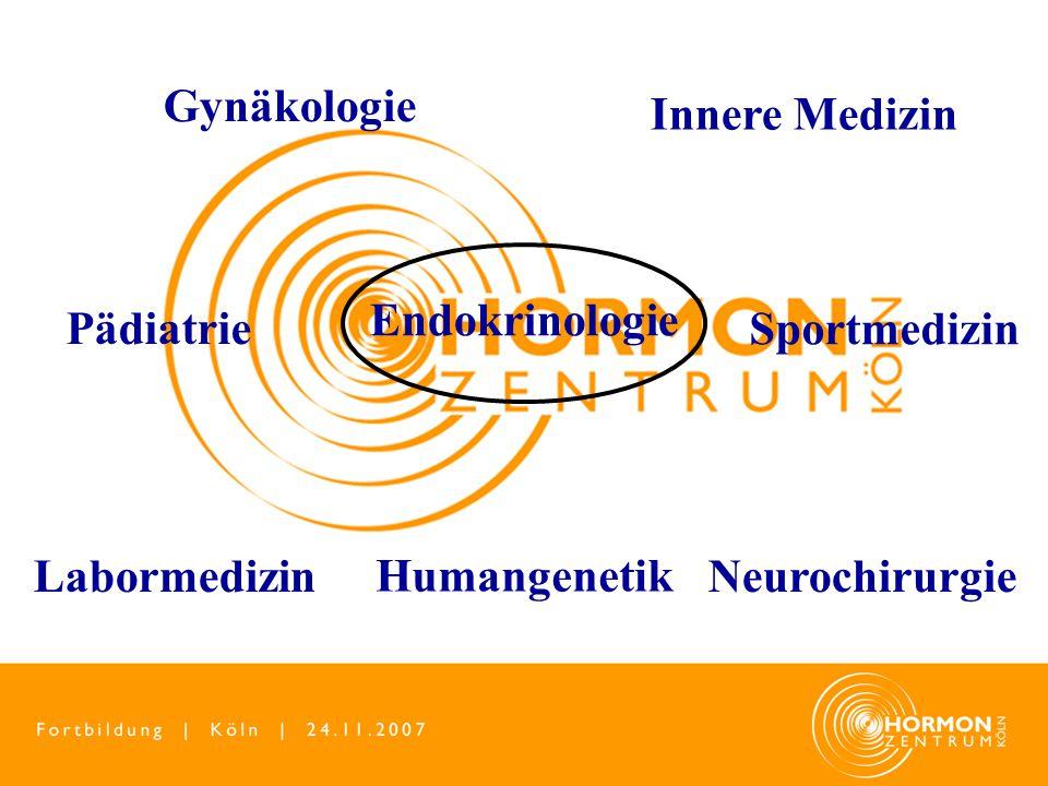 Endokrinologie Gynäkologie Innere Medizin Labormedizin Sportmedizin Pädiatrie Neurochirurgie Humangenetik