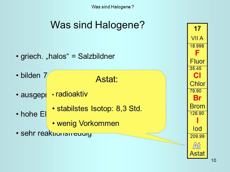 10 Was sind Halogene .