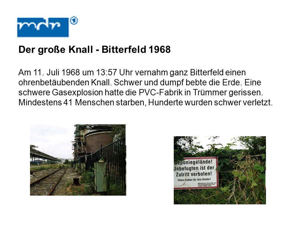 Der große Knall - Bitterfeld 1968 Am 11.