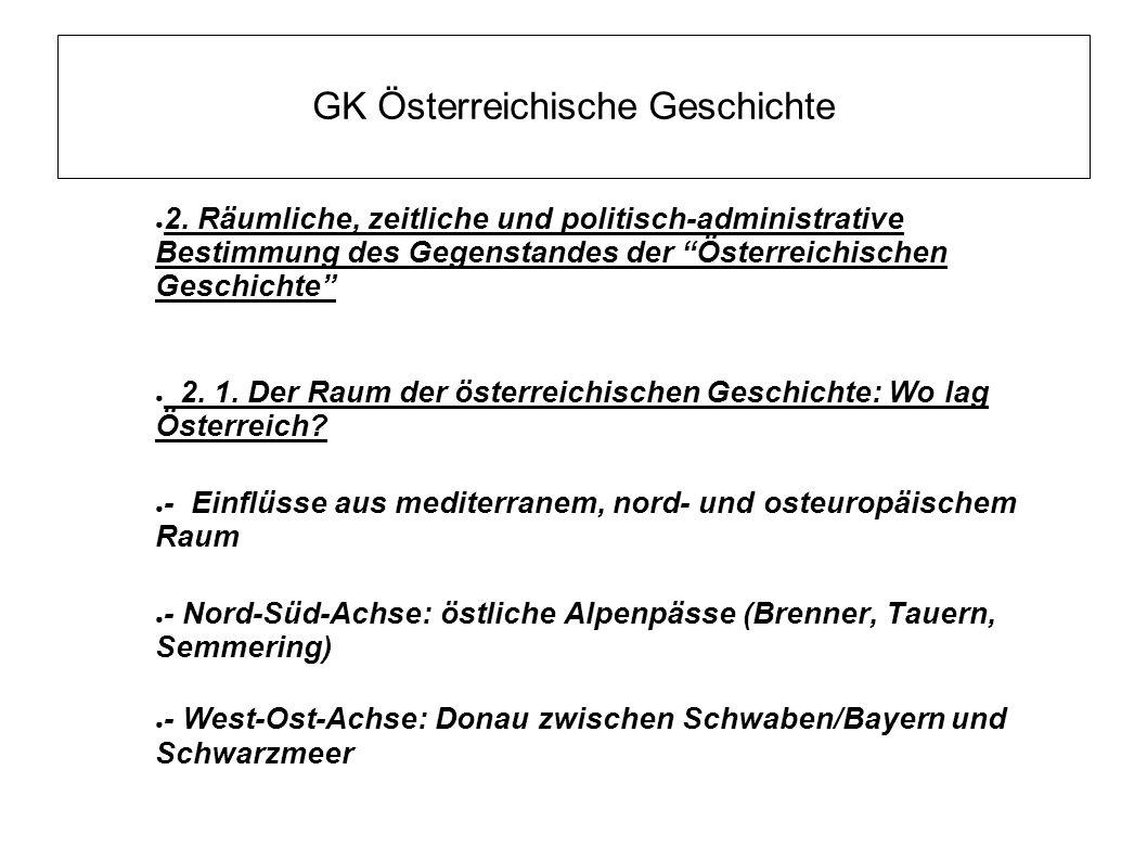 GK Österreichische Geschichte ● 2.