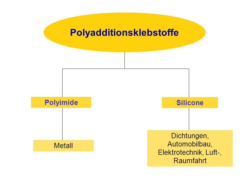Metall Dichtungen, Automobilbau, Elektrotechnik, Luft-, Raumfahrt Polyimide Silicone Polyadditionsklebstoffe