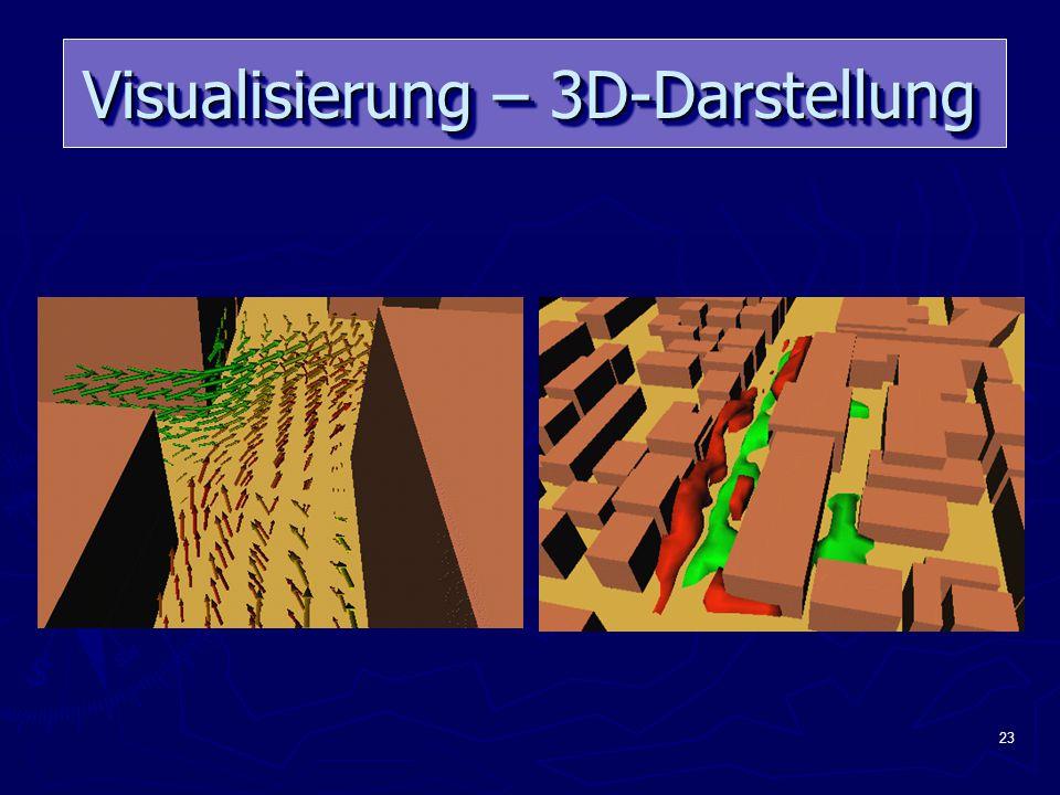23 Visualisierung – 3D-Darstellung