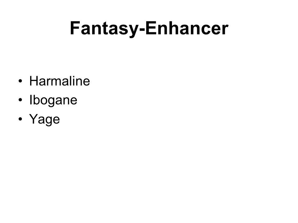 Fantasy-Enhancer Harmaline Ibogane Yage