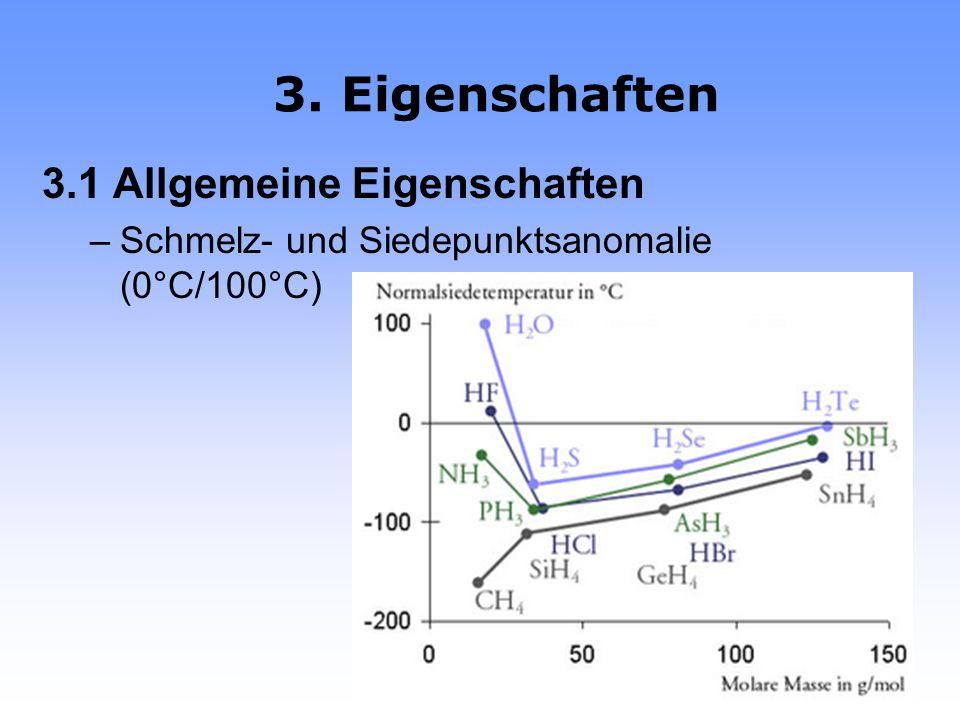 D1: Ablenkung eines Wasserstrahls 2. Das Wassermolekül