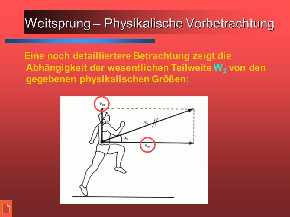 Weitsprung - Schwebehang >Die Hanghaltung wird eingenommen, indem beide Arme von der gegengleichen Laufhaltung in die Rückhochhalte geführt werden >Die Hüften werden dabei vorgedrückt, die Oberschenkel hängen gelassen und die Unterschenkel (waagrecht) nach hinten gebracht