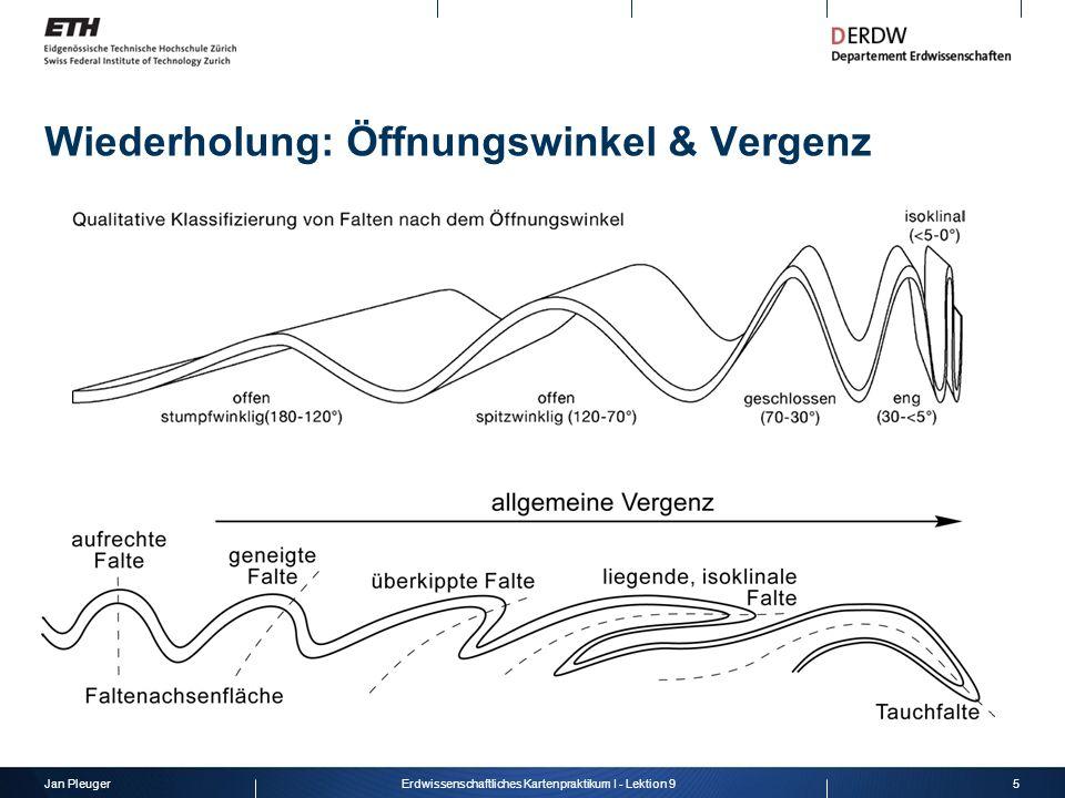 Jan Pleuger6Erdwissenschaftliches Kartenpraktikum I - Lektion 9 Wiederholung: Dip-Domänen- Methode