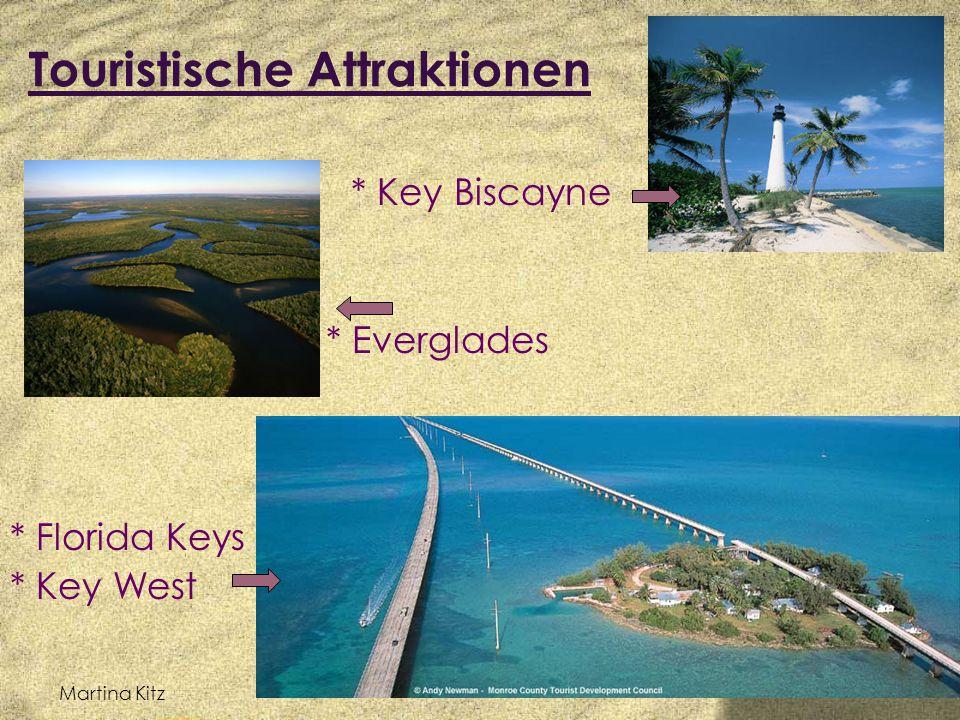 Martina Kitz Touristische Attraktionen * Art-Déco-Viertel * Miami Beach * Miami Seaquarium