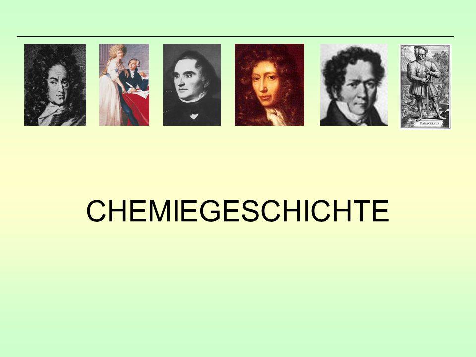 CHEMIEGESCHICHTE