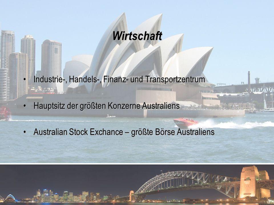 Wirtschaft Industrie-, Handels-, Finanz- und TransportzentrumIndustrie-, Handels-, Finanz- und Transportzentrum Hauptsitz der größten Konzerne Austral