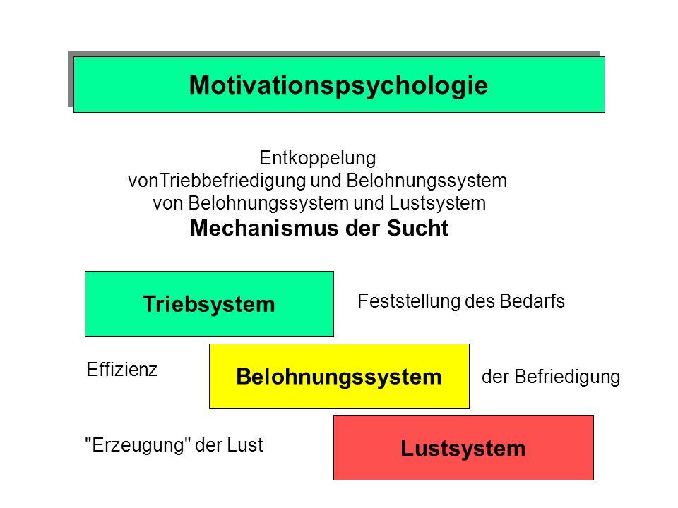 Motivationspsychologie Geld - Bedürfnisbefriedigung unmittelbar: Kind - Geld - Eis - Lust Geld: Signal für Lust Anreizwert von Geld - sekundäres Motiv