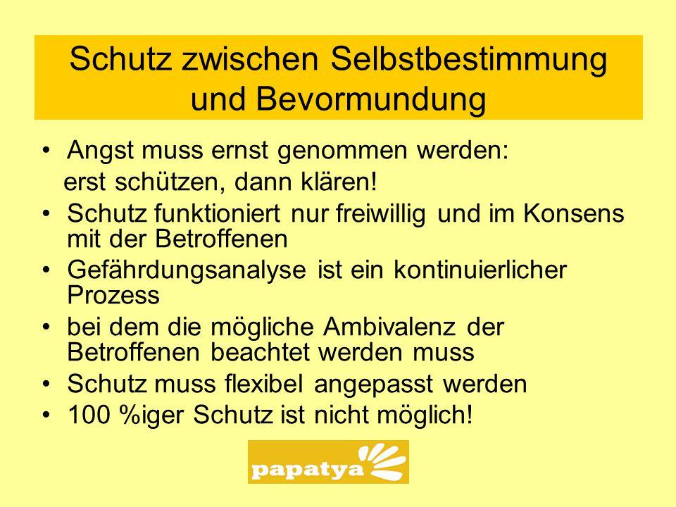 Anonyme Kriseneinrichtung für junge Migrantinnen c/o Jugendnotdienst Mindener Str.