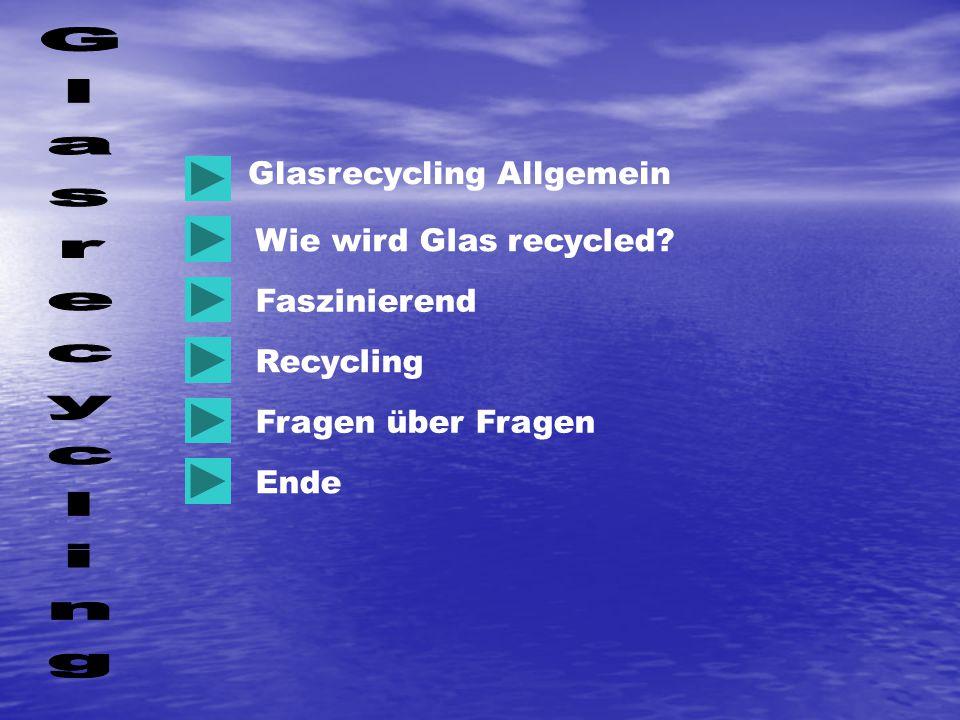 Glasrecycling Allgemein Wie wird Glas recycled? Faszinierend Recycling Ende Fragen über Fragen