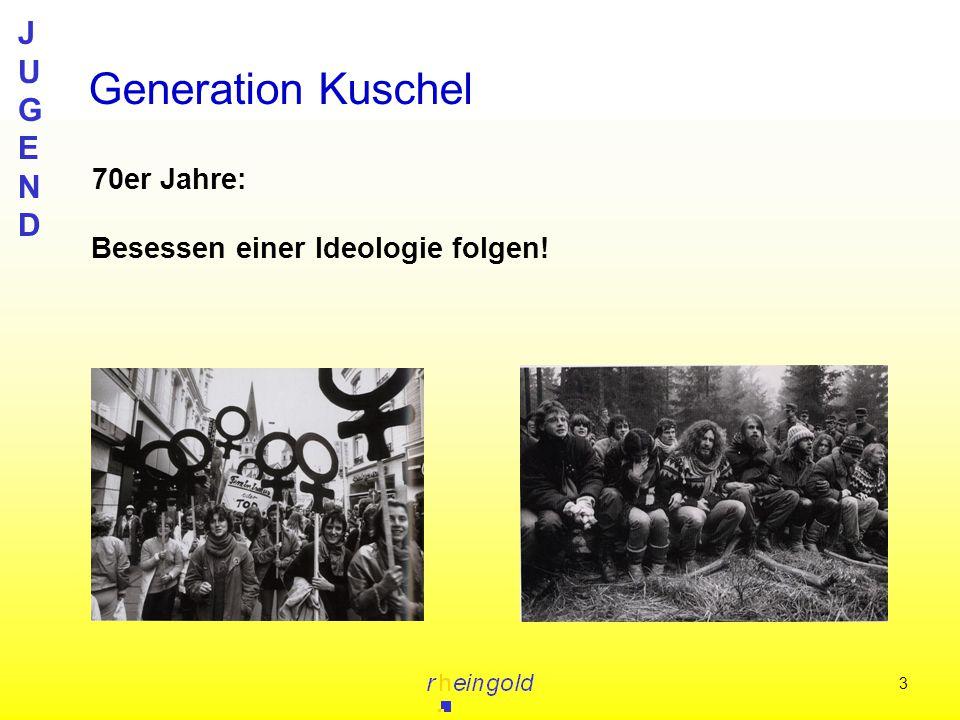JUGENDJUGEND 3 70er Jahre: Generation Kuschel Besessen einer Ideologie folgen!