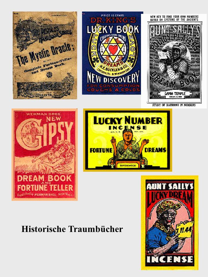 15 Historische Traumbücher