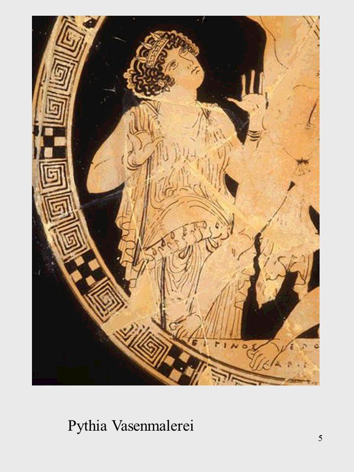 5 Pythia Vasenmalerei