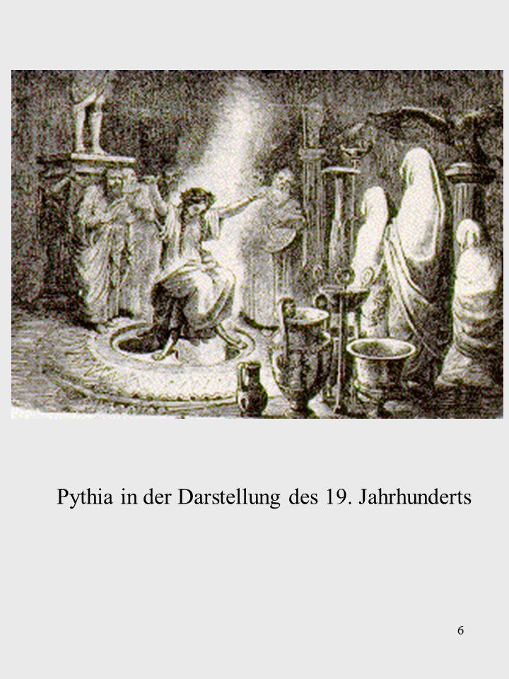6 Pythia in der Darstellung des 19. Jahrhunderts