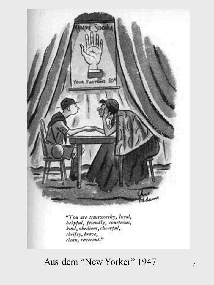 7 Aus dem New Yorker 1947