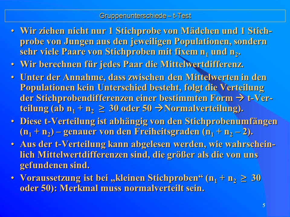 15 Gruppenunterschiede – einfache und multiple Varianzanalyse Multiple oder mehrfaktorielle Varianzanalyse 1.Erweiterung: Wir haben nicht mehr nur einen Faktor (z.B.