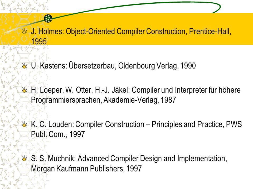 S.Naumann, H. Langer: Parsing, Teubner Stuttgart, 1994 P.