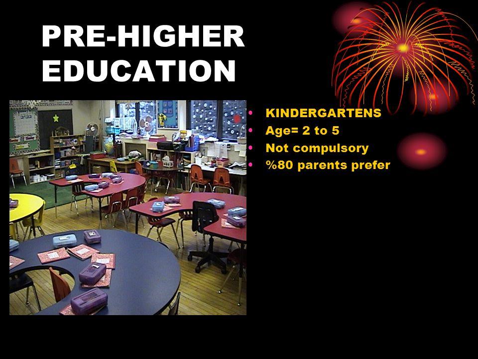 GRUNDSCHULE (primary school) Age= 6 to 10 Compulsory =>realschule =>hauptschule =>gymnasium