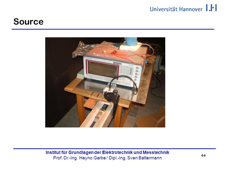 44 Institut für Grundlagen der Elektrotechnik und Messtechnik Prof. Dr.-Ing. Heyno Garbe / Dipl.-Ing. Sven Battermann Source