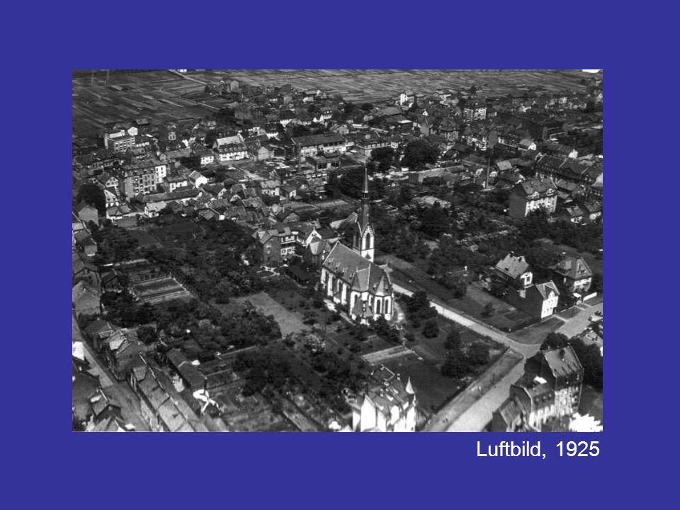 Luftbild, 1925