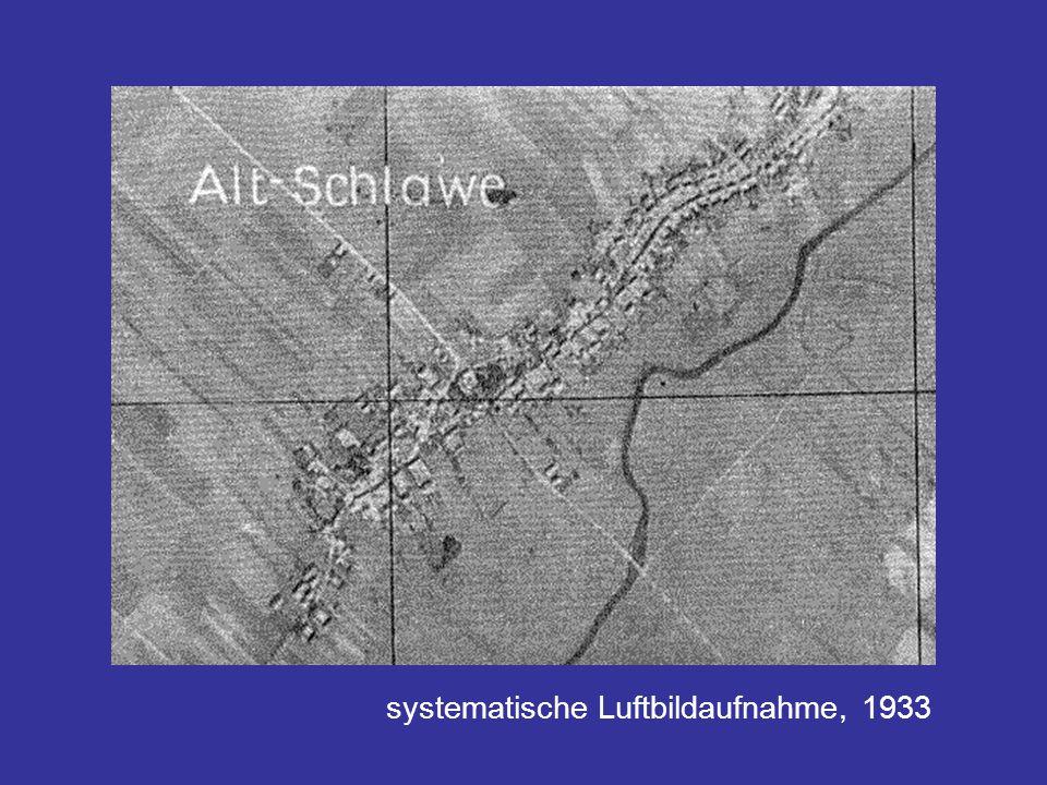 systematische Luftbildaufnahme, 1933