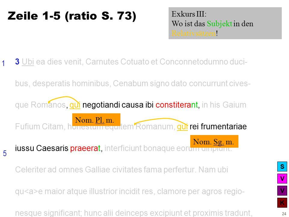 V V K S 24 3 Ubi ea dies venit, Carnutes Cotuato et Conconnetodumno duci- bus, desperatis hominibus, Cenabum signo dato concurrunt cives- que Romanos, qui negotiandi causa ibi constiterant, in his Gaium Fufium Citam, honestum equitem Romanum, qui rei frumentariae iussu Caesaris praeerat, interficiunt bonaque eorum diripiunt.
