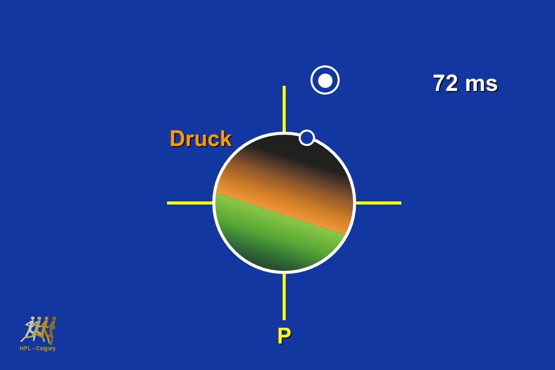 Druck P 72 ms