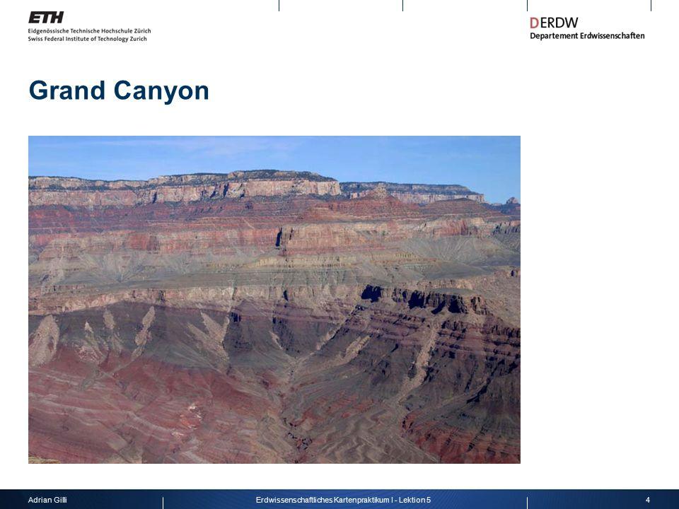 Adrian Gilli4Erdwissenschaftliches Kartenpraktikum I - Lektion 5 Grand Canyon