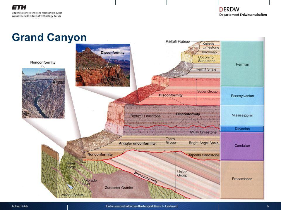 Adrian Gilli5Erdwissenschaftliches Kartenpraktikum I - Lektion 5 Grand Canyon