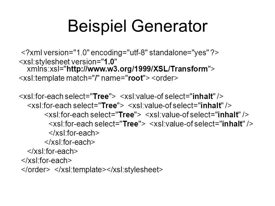 Beispiel Generator