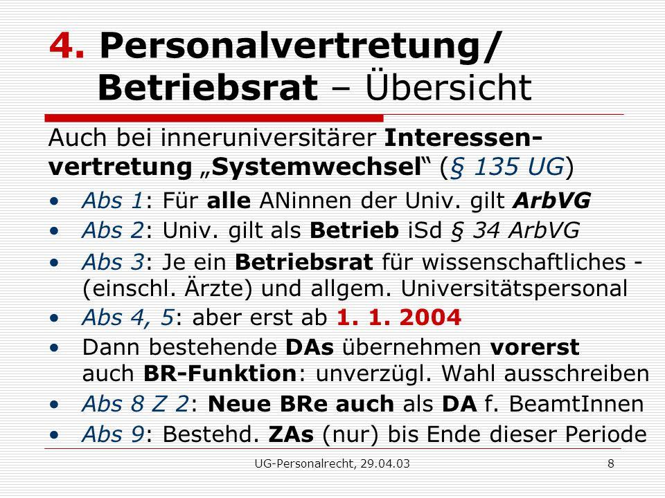 UG-Personalrecht, 29.04.038 4.