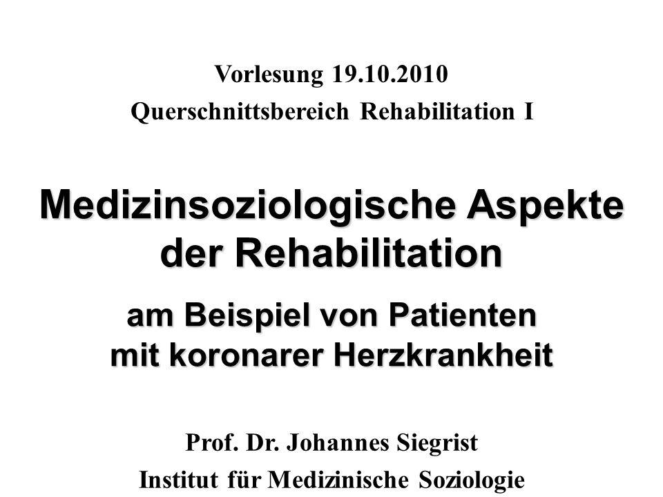 Rehabilitation umfasst alle Maßnahmen, mit deren Hilfe körperlich, geistig und seelisch behinderte Menschen in die Lage versetzt werden, ihre Fähigkeiten und Kräfte zu entfalten und in das gesellschaftliche Leben integriert zu werden.