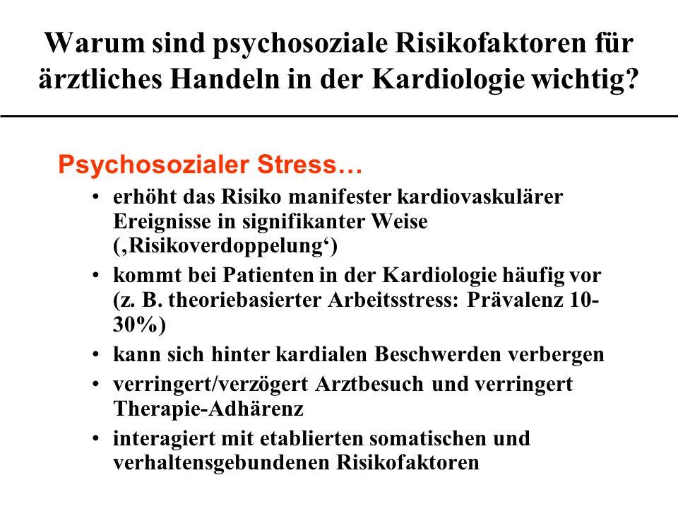 kontrolliert für Alter Relatives Risiko Relatives Risiko der KHK bei berufstätigen Frauen nach Höhe der beruflichen Stellung (Stockholm-Studie) Quelle: S.