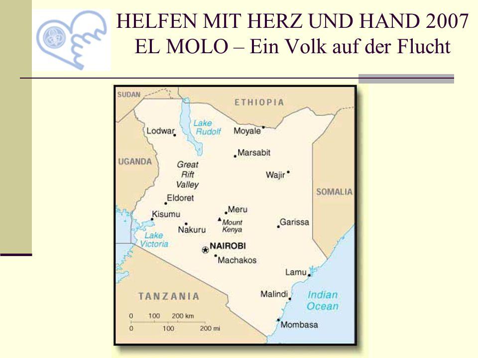 Lebensraum der El Molo: Lavagebiet und Wüste bzw.
