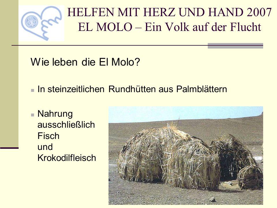 HELFEN MIT HERZ UND HAND 2007 EL MOLO – Ein Volk auf der Flucht Eine El-Molo-Pfadfindergruppe ist im Entstehen.