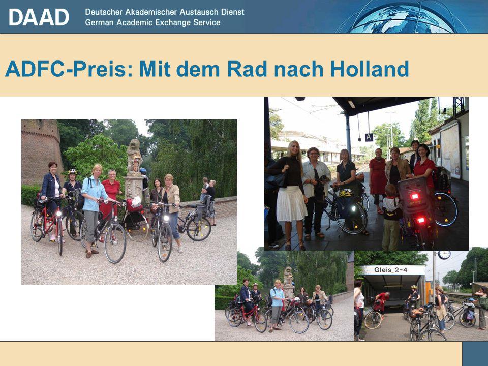ADFC-Preis: Mit dem Rad nach Holland