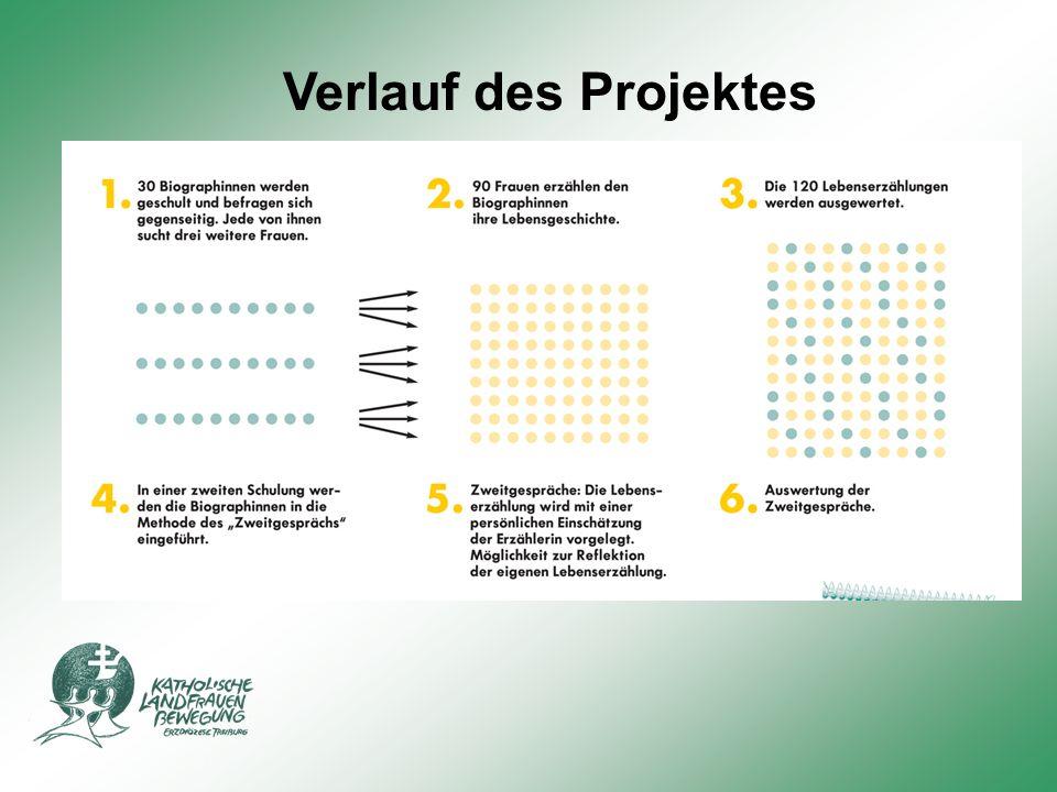 Verlauf des Projektes