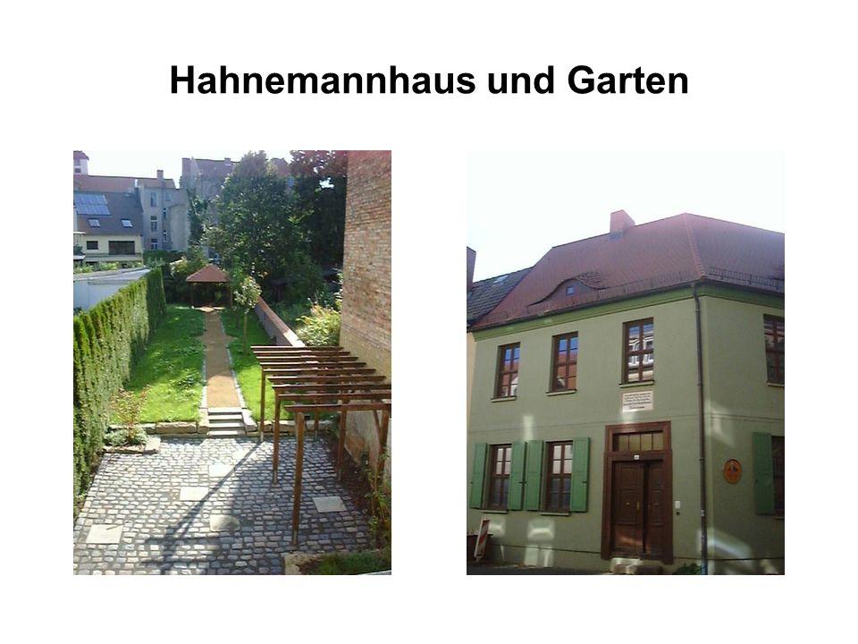 Hahnemannhaus und Garten