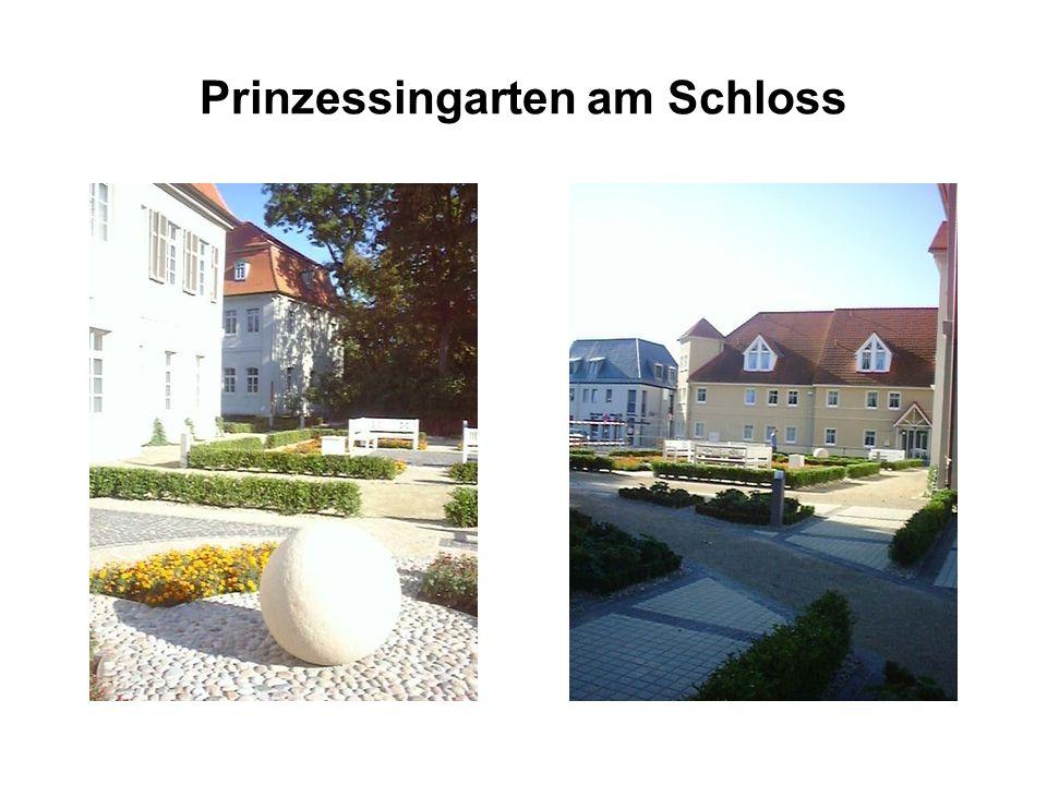 Prinzessingarten am Schloss