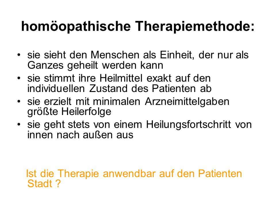 Welche Potentiale kann die Stadt Köthen aus der Homöopathie für den STADTUMBAU nutzen.